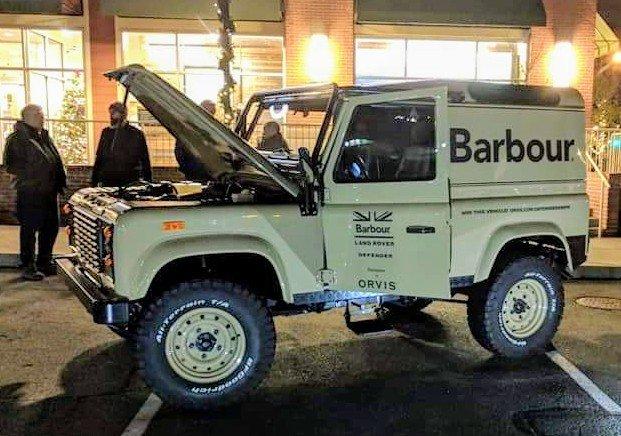 barbour defender